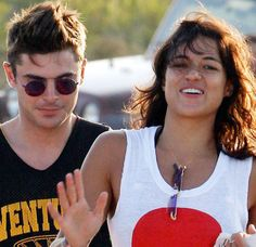 Improbable couple of summer 2014, Zac Efron and Michelle Rodriguez, broke up.