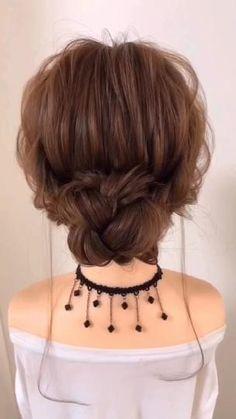 Easy Hairstyles For Long Hair, Diy Hairstyles, Beautiful Hairstyles, Wedding Guest Hairstyles Long, Natural Hairstyles, Hairstyles Videos, Easy Hairstyle For Party, Latest Hairstyles, Hair Wedding