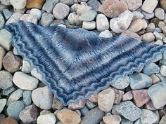 This pattern has been revised May 29, 2012 to include written instructions to the charts. I have also updated the pattern with new and improved charts and updated the instructions for clarity. I hope you enjoy this new version of the Calais Shawl Pattern :)