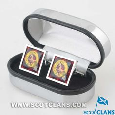Ridell Clan Crest Cufflinks