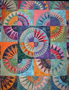 Batik New York Beauty detail by sewgirlsew1, via Flickr