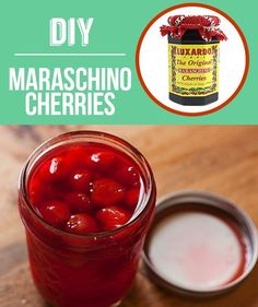 Homemade Maraschino Cherries | 29 Foods You Didn't Know You Could DIY