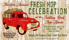 Fresh Hop Celebration! #denver #freshhop #craftbeer