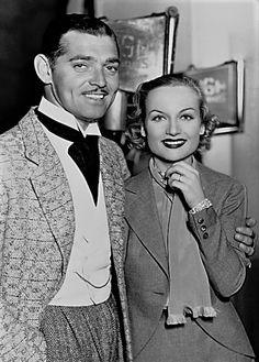 L for legends: Carole Lombard & Clark Gable