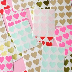 Mini Heart Stickers — Omiyage - cute, clever & crafty goods!