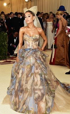28622b0b3cf1a Rihanna s Met Gala 2018 look took a page from the Pope s book in an  embellished Margiela ensemble