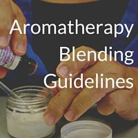 Blending Guidelines and Dilutions (and a Handy Little Chart) | Aromatic Wisdom Institute|Essential Oil Education|Aromatherapy Certification|Liz Fulcher