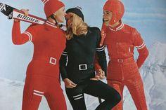 vintage Anba skiwear