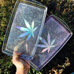 Crystal Clear Rolling Tray  Rolling Tray  by StrawberryCoughs Vanity Tray, Smoking Accessories, Cannabis, Stoner Gifts, Pipes And Bongs, Smoke Shops, Drugs, Weed, Medical