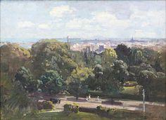 Botanic Gardens, from Fairlea House created by ARTHUR STREETON.