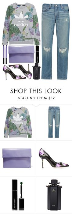 """""""adidas"""" by ecem1 ❤ liked on Polyvore featuring adidas Originals, rag & bone, Marni, Dolce&Gabbana, Givenchy and Gucci"""