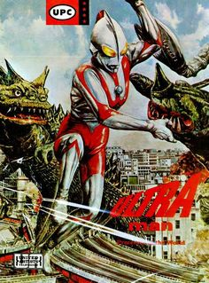 Memorabilia:Science Fiction, Ultraman Model Kit (UPC, One of a very small number ofitems licensed in the United States during Ultraman's ori. Science Fiction, Giant Monster Movies, Japanese Superheroes, Japanese Monster, Fantasy Movies, I Cool, Anime, Film, Pop Culture