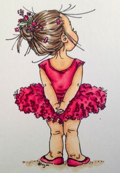 Ballerina Girl #clipart #patterns #colored #paintpatterns #designs