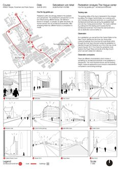 People, movement and public space - how to show the sidewalk gardens - . - People, movement and public space – as you can see the sidewalk gardens – - Site Analysis Architecture, Architecture Mapping, Architecture Concept Diagram, Architecture Presentation Board, Architecture Graphics, Architectural Presentation, Presentation Boards, Architecture Diagrams, Architectural Models