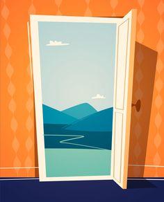 open doors color vector - Hledat Googlem
