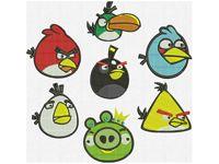 Программа для вышивки Злые птички