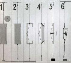 Designed by Pio Manzù and Achille Castiglioni parentesi