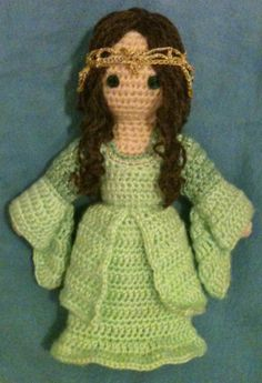 "Arwen, from ""Lord of the Rings"" - amigurumi"