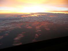 sunrise beneath the clouds