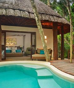 Viceroy Riviera Maya, Playa del Carmen, Mexico | Sit back, relax, and don't worry about any extra fees.