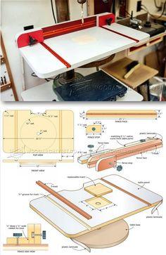 Build Drill Press Table - Drill Press Tips, Jigs and Fixtures | WoodArchivist.com
