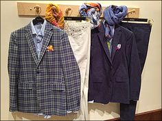 Neiman Marcus® Men's Scarf Peg With Logo Branded Pants Hangers Pant Hangers, Clothes Hanger, Clothing Displays, Kerchief, Logo Branding, Neiman Marcus, Suit Jacket, Dressing, Pocket Squares