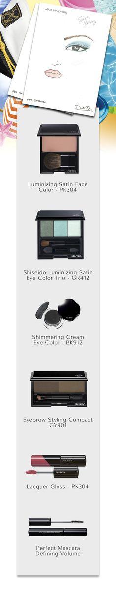 #Cena romantica o #serata con le amiche? Per le occasioni speciali prova il #makeup #Sainttropez  che Dick Page ha realizzato in esclusiva per #Shiseido! #estate #makeupartist #sunsational #ShiseidoModa