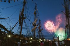 Tall Ships Festival 2012 in Halifax - awesome fireworks every night. Love the tall ships everytime they visit ! Tall Ships Festival, City By The Sea, O Canada, Nova Scotia, East Coast, Us Travel, Fireworks, Great Places, Exploring