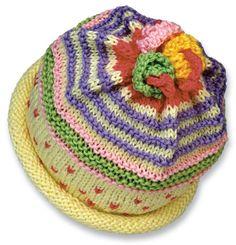 Hand Knit Beanie/Newborn to 18 months. Cotton hand knit baby hat/infant cap. Hand knitted infant hat. Cream, Lavender, Pink, Mint. cotton