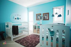 Twin nursery room for my twin boys I want to have