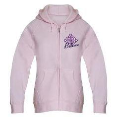 Women's Zip Hoodie / Believe Cross > Garments with flair! > Dreemdust Designs
