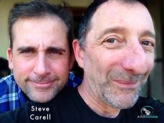 """Steve Carell and I toured together. He's on my pod case """"ADD Comedy with Dave Razowsky and Ian Foley."""" https://itunes.apple.com/us/podcast/a.d.d.-comedy-dave-razowsky/id572391530?mt=2&ign-mpt=uo%3D4"""