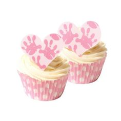 Wilton Man Lady Fun Cupcakes Pix Toppers 8 Count Moustache Lips Baking Accs. & Cake Decorating Kitchen, Dining & Bar