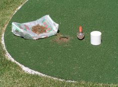 Step-by-step do-it-yourself instructions show how to build and install a great outdoor putting green in your backyard. Outdoor Putting Green, Paver Sand, Turf Installation, Picnic Blanket, Outdoor Blanket, Golf Green, Pea Gravel, Backyard Makeover, Building