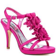 Pink 2 Inch Heels  Tsaa Heel