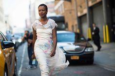 New York Fashion Week Spring 2014 Street Style, Day 8/ STRUT HONEY!!