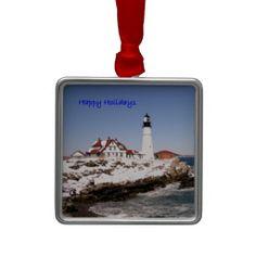 Happy Holidays Christmas Tree Ornament