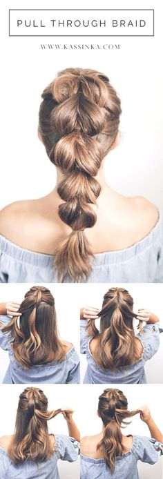 Cool Hair Tutorials for Summer – Pull Through Braid Tutorial – Easy Hairstyles a…  Cool Hair Tutorials for Summer – Pull Through Braid Tutorial – Easy Hairstyles and Creative Looks for Hair – Beachy Waves, Hair Styles for Short H ..  http://www.tophaircuts.us/2017/11/25/cool-hair-tutorials-for-summer-pull-through-braid-tutorial-easy-hairstyles-a/