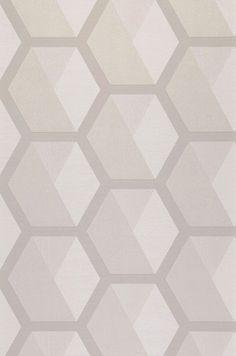 Hirolanit | Papel pintado geométrico | Patrones de papel pintado | Papeles de los 70