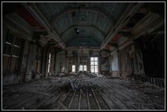 Gartloch Hospital, Lanarkshire | Whatevers Left | UK Urbex {The damage done to the city of Elysian after the Burning.}