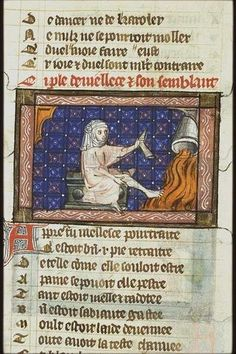 Medieval Manuscript, Illuminated Manuscript, Indiana Jones Room, High Middle Ages, Gothic, Europe, Costumes, Baseball Cards, Flooring Tiles