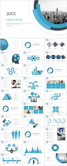 Business infographic & data visualisation Blue creative annual report PowerPoint Presentation on Behance Infographic Description Powerpoint Presentation Examples, Cool Powerpoint, Professional Powerpoint Templates, Corporate Presentation, Presentation Layout, Powerpoint Presentation Templates, Powerpoint Presentations, Keynote Template, Brochure Template