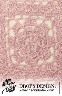 New crochet skirt drops design libraries ideas Crochet Afghans, Crochet Mittens Pattern, Crochet Motifs, Crochet Flower Patterns, Free Crochet, Point Granny Au Crochet, Granny Square Pattern Free, Granny Square Afghan, Free Pattern
