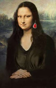 Mona Lisa con vestito nuovo