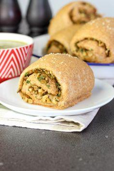 walnut olive spelt bread rolls