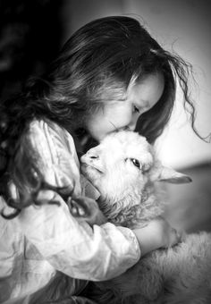 I would LOVE to have a picture of Marlowe with a lamb when she is older. hmmm Sheep farm in the future ???