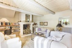 Mas with pool for sale in Oppede, Janssens Immobilier Provence Real Estate Agency, Real Estate Marketing, Provence, Living Room With Fireplace, Open Plan Kitchen, Stunning View, Wine Cellar, Property For Sale, Swimming Pools