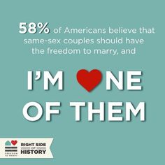 Most Americans believe same-sex couples should have the freedom to marry. I'm one of them.