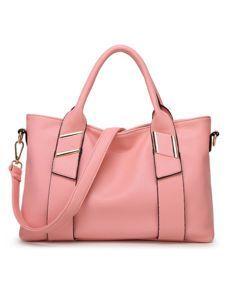 European Style Soft Leather Large Capacity Basic Shoulder Bag handbag  gorgeous soft pink  musthave affiliate link e7bbdce181