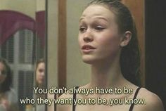 10 things i hate about you Sad Movies, Iconic Movies, Movie Tv, Tv Quotes, Mood Quotes, Life Quotes, Citations Film, I Hate You, 10 Things I Hate About You Quotes
